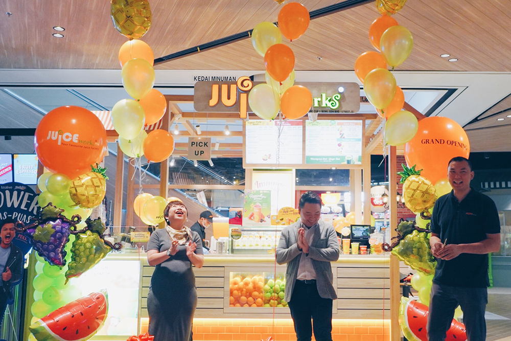 Opening of Juice Works Central i-City