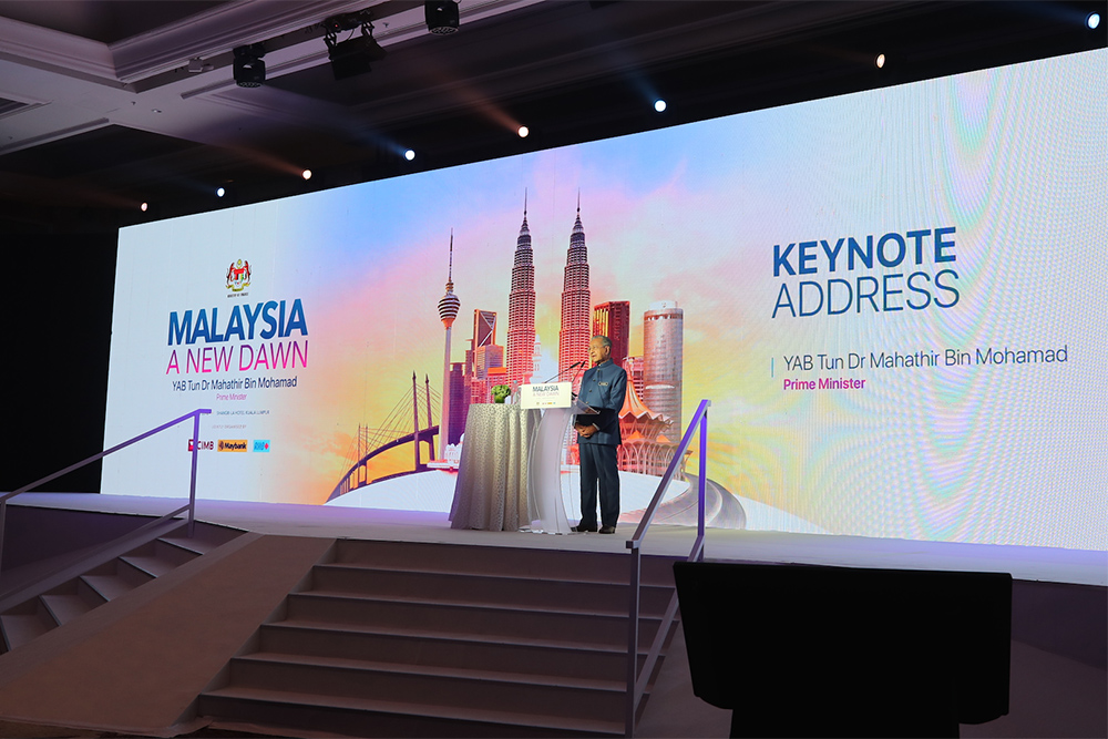 Malaysia A New Dawn Conference