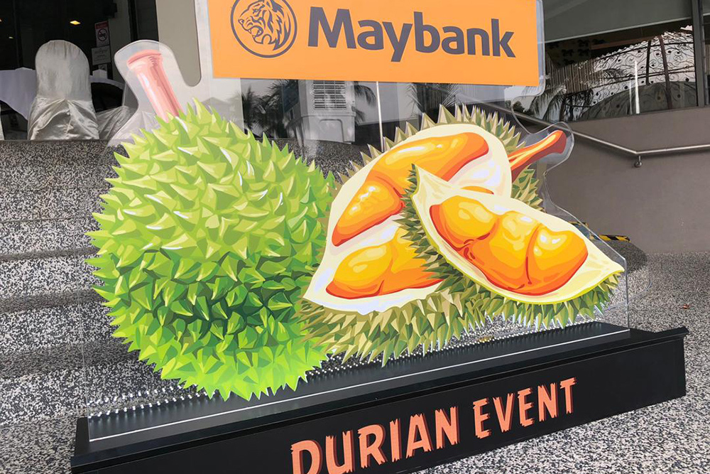 Maybank Durian Event